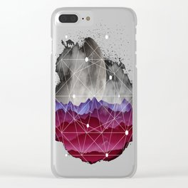 Life-on-Mars Clear iPhone Case