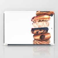 donuts iPad Cases featuring Donuts! by Sam Luotonen