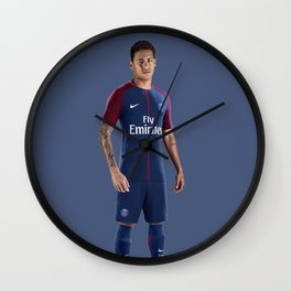 Neymar Jr 10 Wall Clock