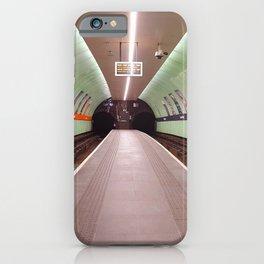 Glasgow Subway iPhone Case