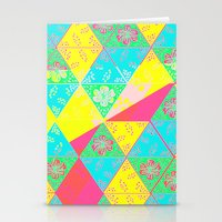 transparent Stationery Cards featuring Transparent Triangle by Lillian Cassidy