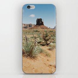 Blooming Southwest Desert Yucca iPhone Skin