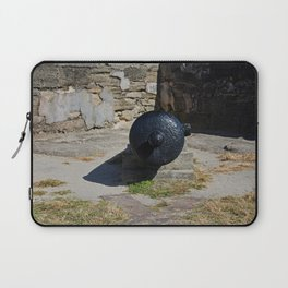 Castillo de San Marcos Cannon II Laptop Sleeve
