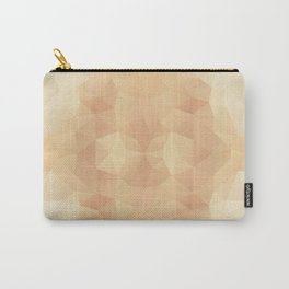 Mozaic design in pastel beige colors Carry-All Pouch