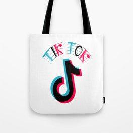 Musically Tik Tok Tote Bag