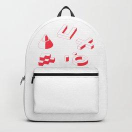 3D Shapes Backpack
