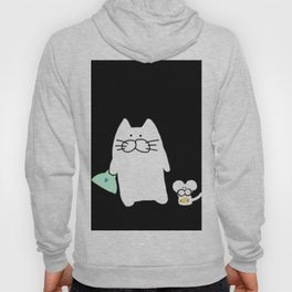 cat and mouse 223 Hoody