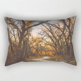 Illuminated New Mexican Trail II Rectangular Pillow