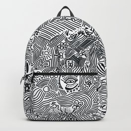 The crazy world Backpack