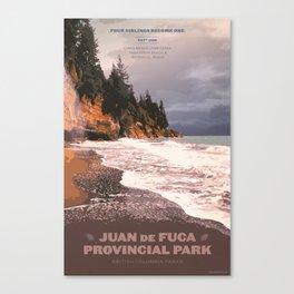 Juan de Fuca Provincial Park Canvas Print