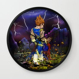 Saiyan brutality iPhone 4 5 6 7 case, pillow case, mugs and tshirt Wall Clock