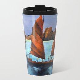 Junks In the Descending Dragon Bay Travel Mug