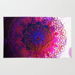 CLEANLINESS REGRESSION Mandala Rug