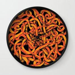 earthworms Wall Clock
