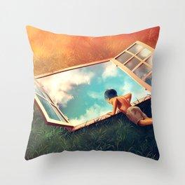 Sweet Vertigo Throw Pillow