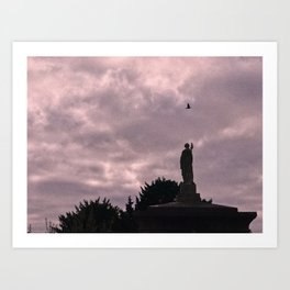 The Brompton cemetery experience Art Print