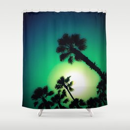 lookin' up Shower Curtain