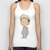 niall Tank Tops featuring Schulz Niall by Ashley R. Guillory