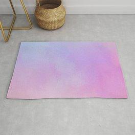 Rainbow Purple Splash Rug