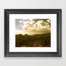 The Sierras Framed Art Print