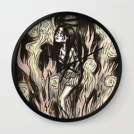 Burn the witch! Wall Clock