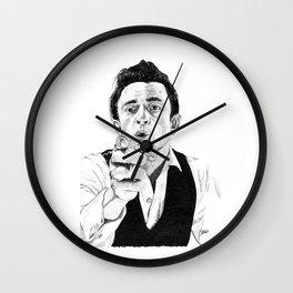 """""""Johnny C"""" Wall Clock"""