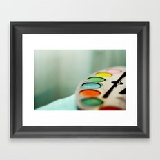 Colors* Framed Art Print