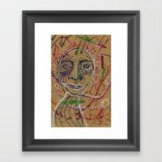 Color spirit Framed Art Print