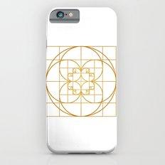 Golden Splash iPhone 6s Slim Case
