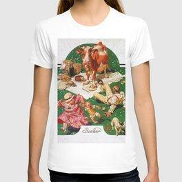 12,000pixel-500dpi - Joseph Christian Leyendecker - Picnic Interruption - Digital Remastered Edition T-shirt