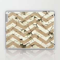 Peeling Chevrons Taupe Laptop & iPad Skin