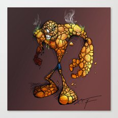 ZOMBIE THE THING Canvas Print