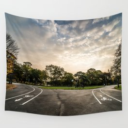 Brooklyn park entrance/exit Wall Tapestry