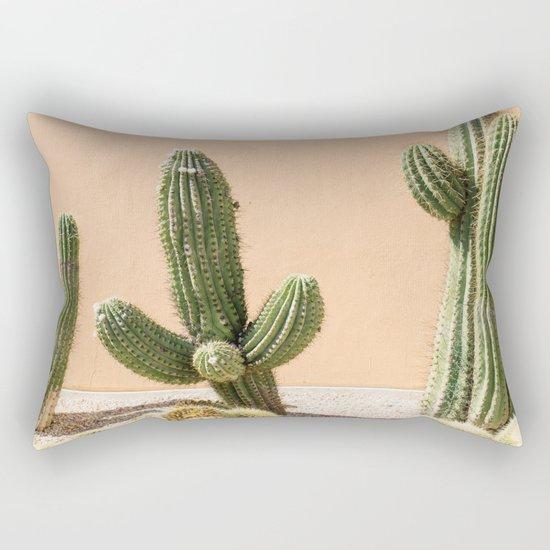 Pastel Cactus II Rectangular Pillow