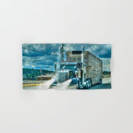 The Cattle Truck Hand & Bath Towel