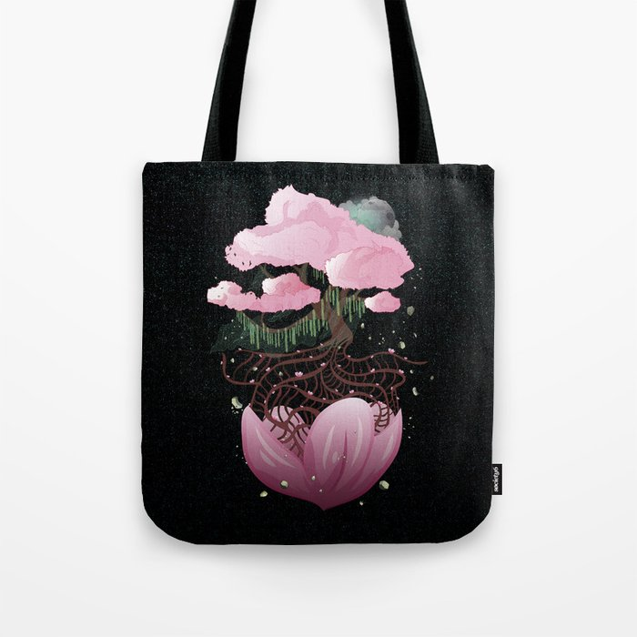 The last tree of life Tote Bag