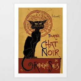 Le Chat Noir Art Print