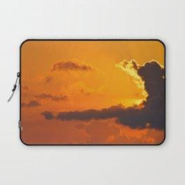 Fire in the Sky Laptop Sleeve