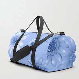 Multicolored natural flowers 16 Duffle Bag