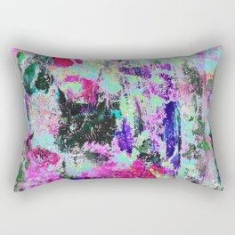 Bright Paint Peeling Rectangular Pillow