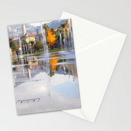 LE MIROIR D'EAU - NICE Stationery Cards