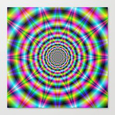 Star Ripples Canvas Print