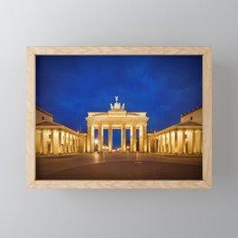 BERLIN Brandenburg Gate Framed Mini Art Print