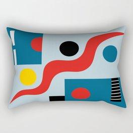 SWIMMERS IN WEIMAR Rectangular Pillow