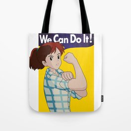 We Can Do It! (PORCO ROSSO) Tote Bag