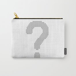 Questioning Carry-All Pouch