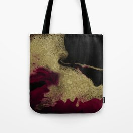 Black Honey - resin abstract painting Tote Bag