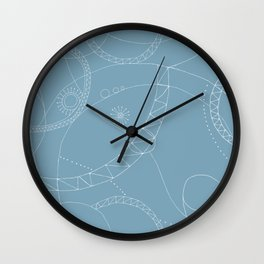 Cosmic Chatter Wall Clock