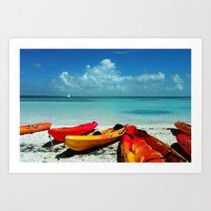Shore Rest Art Print