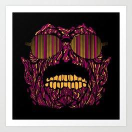 Bohemian Zombie Art Print